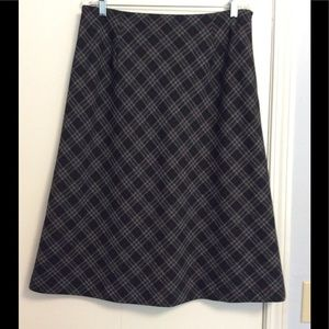 A lined Skirt